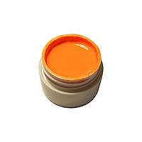 Гель-краска для ногтей Gel Color тыквенная с липким слоем