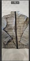 Распрдажа! Лёгкая мужская  куртка на тонком  синтепоне весна осень серый(стальной), фото 1