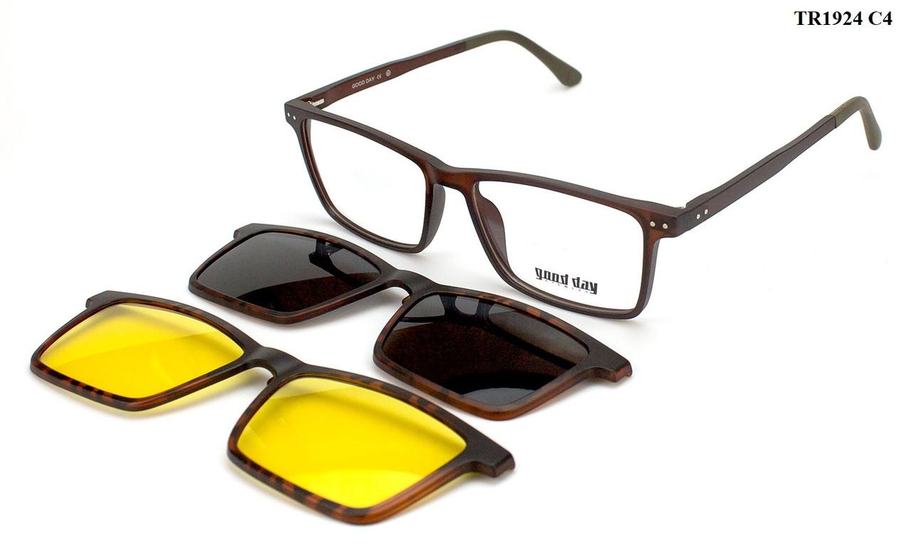 Оправа для окулярів з насадками Good Day