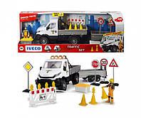 Игровой набор Ремонт дороги с дорожными знаками, Playlife Dickie Toys 3838005