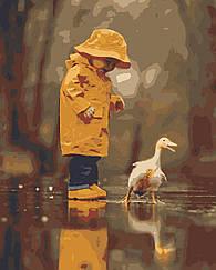 Картины по номерам - Беззаботное детство   Riviera Blanca™ 40х50 см.   RB-0025