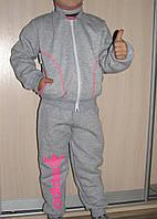 Спортивный костюм утеплённый для девочки Adidas р.98-104