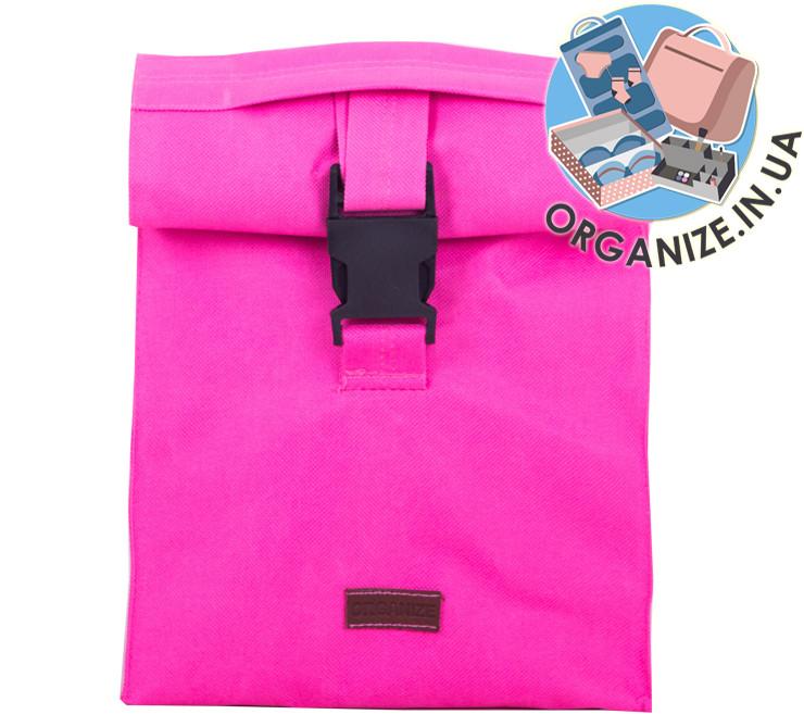 Ланч бэг или сумка для обеда ORGANIZE (розовый)