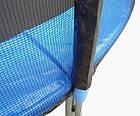 Защитная сетка для батута 8 фт 244-252 см, 6 столбиков, внешняя, фото 3