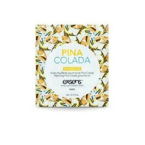 Пробник массажного масла EXSENS Pina Colada 3мл, фото 2