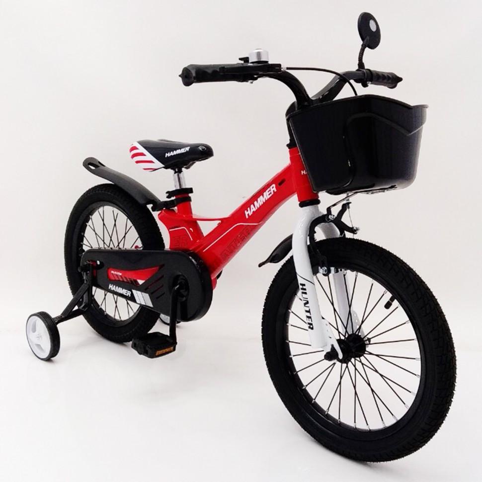 Велосипед 1850D-HAMMER HUNTER червоний. Магнієва рама (Magnesium)