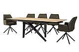 Стол обеденный раскладной TML- 810 стеклокерамика вествуд 160/240*90 (бесплатная доставка), фото 2