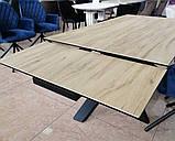 Стол обеденный раскладной TML- 810 стеклокерамика вествуд 160/240*90 (бесплатная доставка), фото 5