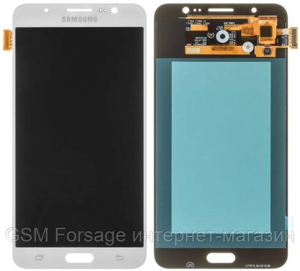 Дисплей Samsung Galaxy J7 2016 SM-J710F OLED White