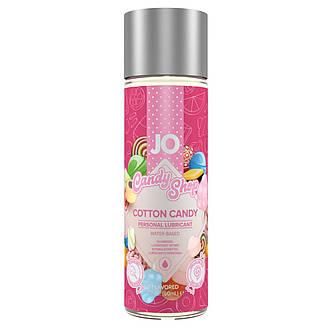 Лубрикант на водной основе System JO H2O - Candy Shop - Cotton Candy (60 мл) без сахара и парабенов, фото 2