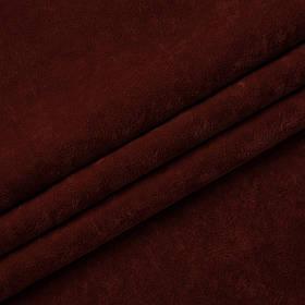 Ткань антикоготь флок Финт терракотового цвета