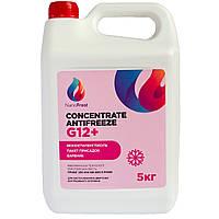 Концентрат антифриза NanoFrost G 12+ (розовый) 5 кг