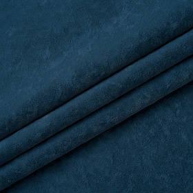 Ткань антикоготь флок Финт голубого цвета