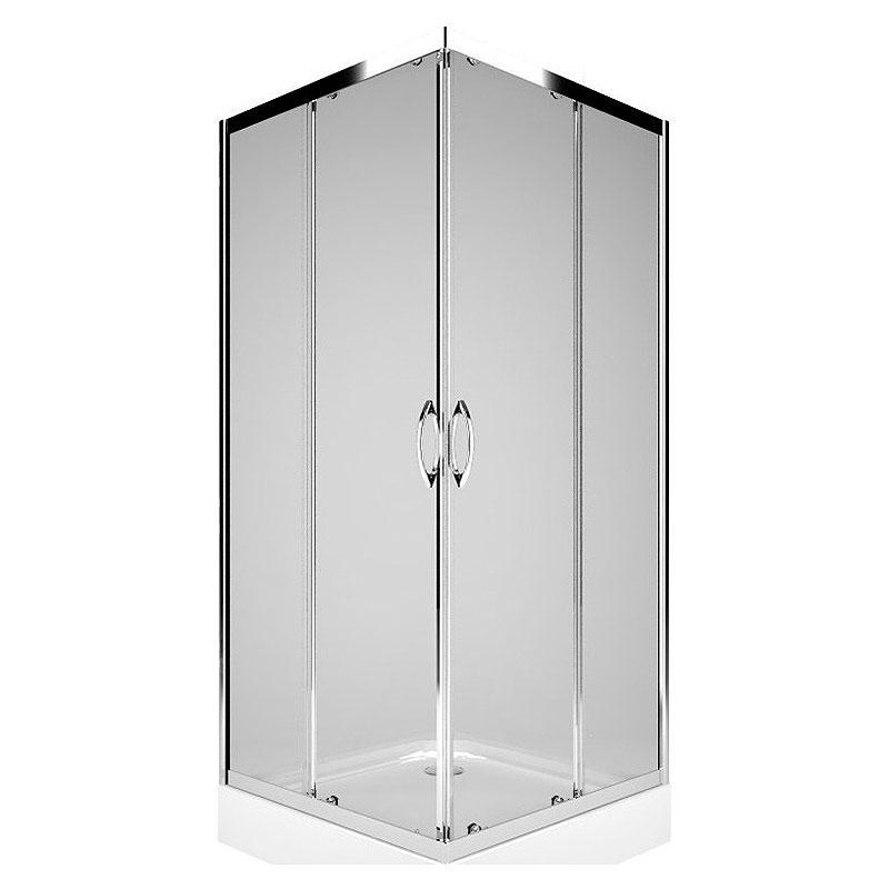 Душ. штора РЕКОРД 80х80 квадрат., заг.скло (PKDK80222003)
