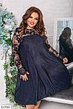 Коктельное праздничное платье  размеры: : 48-50, 52-54, 56-58, 60-62, фото 2