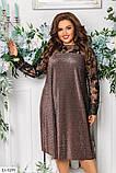 Коктельное праздничное платье  размеры: : 48-50, 52-54, 56-58, 60-62, фото 8