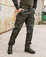 Брюки летние Милитари карго хаки рип-стоп, фото 1