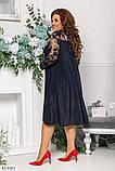 Коктельное праздничное платье  размеры: : 48-50, 52-54, 56-58, 60-62, фото 4