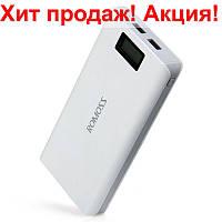 Power-Bank Romoss LCD 50000mAh Sense 6 PLUS 2USB, повер-банк с экраном, мощный портативный аккумулятор