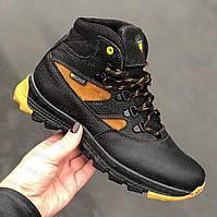 Ботинки зимние детские подростковые кожаные для/на мальчика, черевики зимові на хлопчика