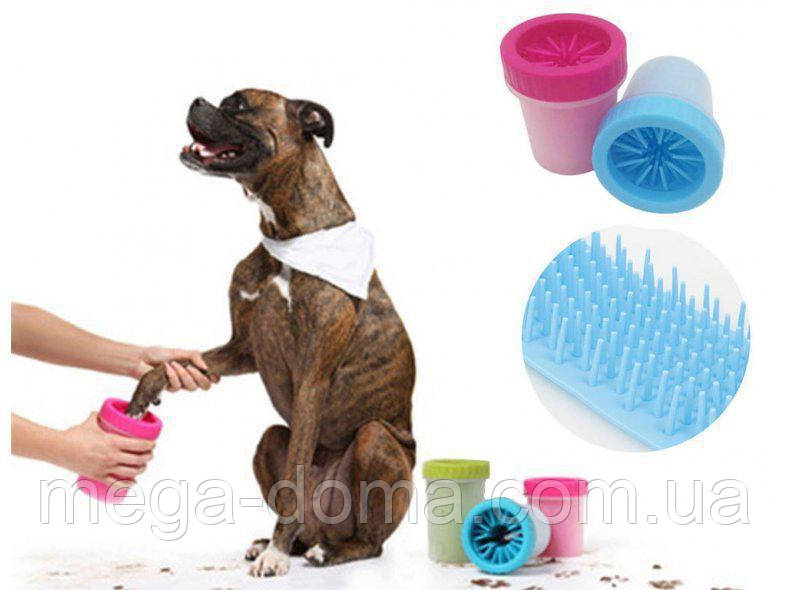Лапомойка для собак и кошек Soft Gentle Средняя