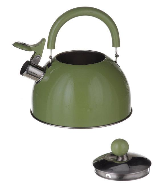 Чайник для газовой плиты 2 л. (Зеленый)