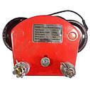 Тельфер электрический 500/1000кг передвижной с кареткой BOXER ВХ-564 3000W, фото 4