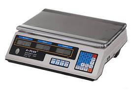 Ваги електронні торгівельні А плюс 1660 акумуляторні на 50 кг