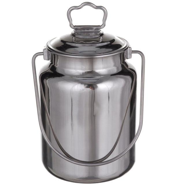 Бідон для молока А-Плюс 0483 нержавіюча сталь 5 л