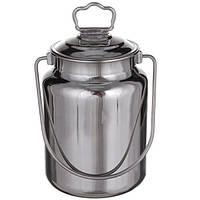 Бідон для молока А-Плюс 0483 нержавіюча сталь 5 л, фото 1