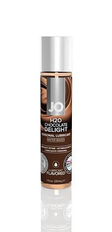 Смазка на водной основе System JO H2O - Chocolate Delight (30 мл) без сахара, растительный глицерин, фото 2