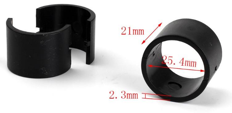 Втулка переходник с диаметра 30мм на 25,4мм, вставка в крепления 30мм