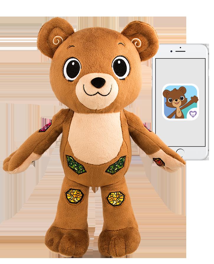 Диа-мишка Jerry the Bear — обучающая игрушка