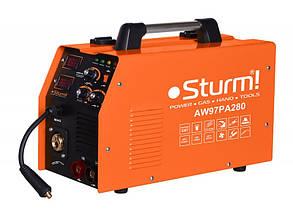Сварочный инверторный полуавтомат (MIG/MAG,MMA, 280А) 6,5кВт Sturm AW97PA280