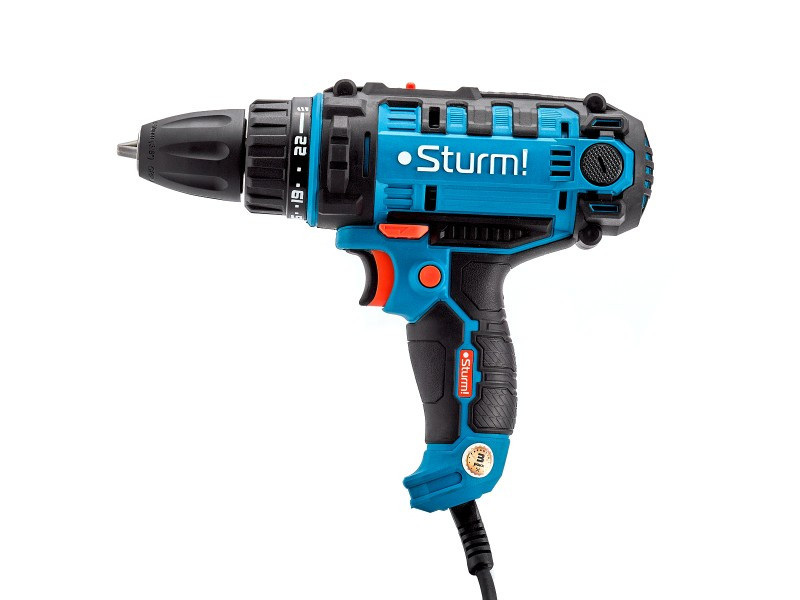 Дрель-шуруповерт сетевой Sturm ID2155P Profi Гарантия 36 месяцев