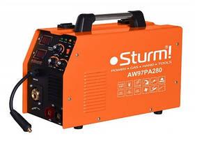 Зварювальний напівавтомат (MIG/MAG,MMA, 310А) інверторний Sturm AW97PA310. Гарантія 2 роки