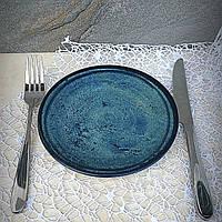 Персональная бирюзовая тарелка Kutahya Porselen Corendon 210 мм (NB3021), фото 1