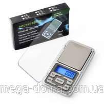 Карманные весы Pocket scale, ювелирные электронные весы 500 грамм/ деление 0,1