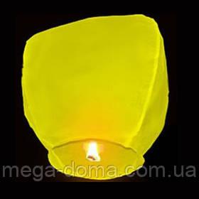 """Небесные фонарики """"Купол"""", ,1 метр ,разных цветов Желтый"""