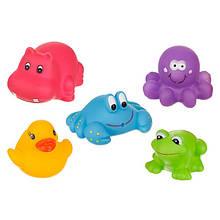 Игрушки для купания Akuku  (набор 5шт.)