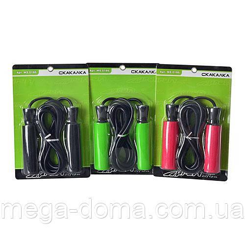Скакалка с подшипниками для фитнеса Profi MS 0186