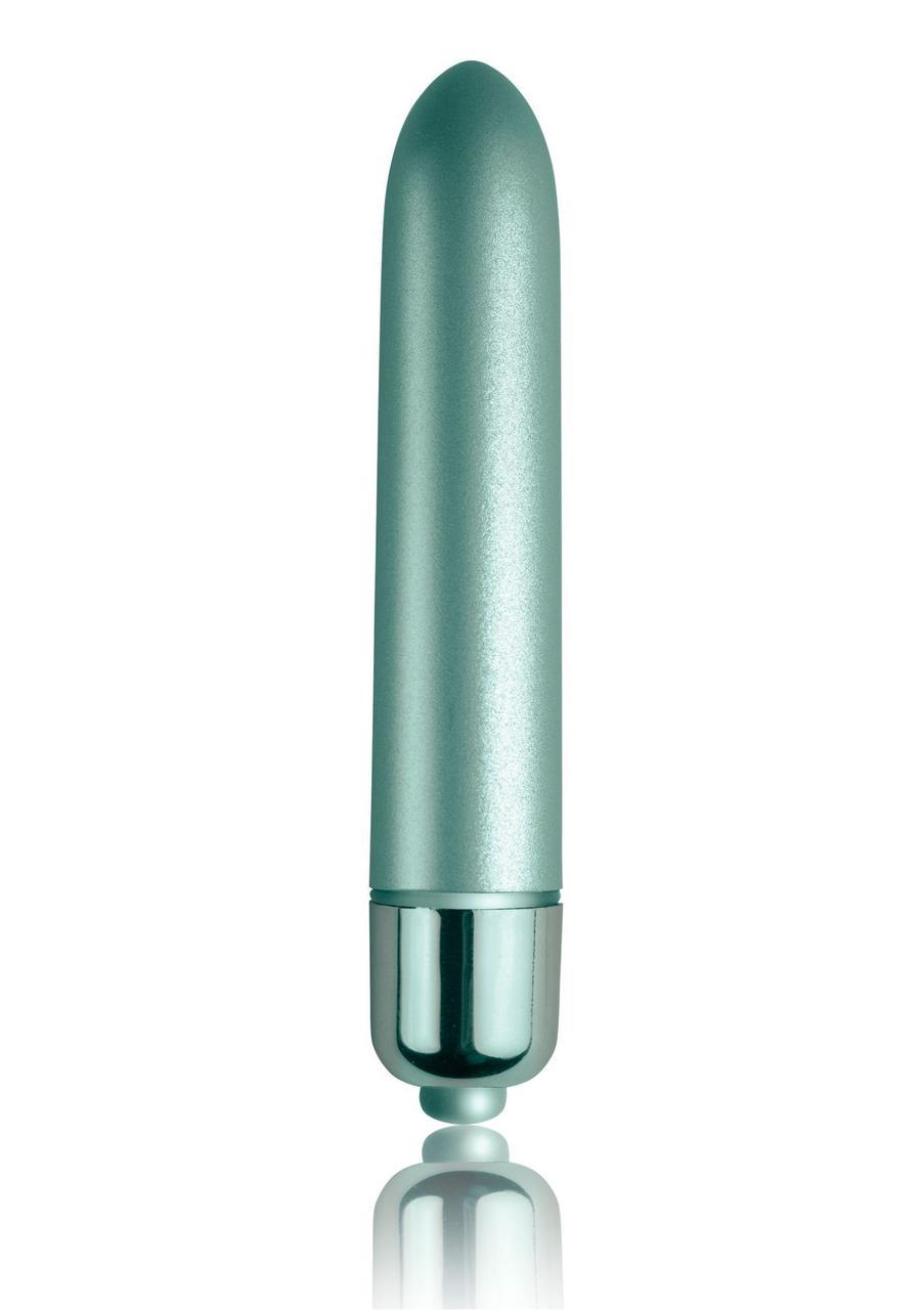 Вибропуля Rocks Off RO-90mm Touch of Velvet Aqua Lily матовая