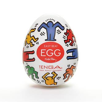 Мастурбатор яйцо Tenga Keith Haring EGG Dance, фото 2