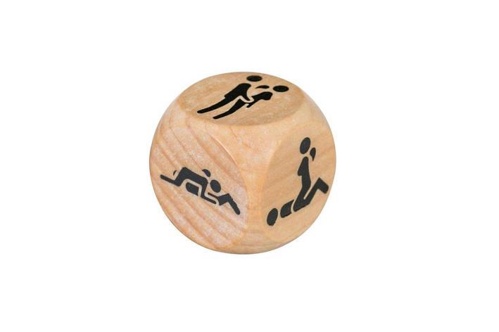 Деревянный кубик с позами Adrien Lastic Dice Sexy (1 шт), фото 2