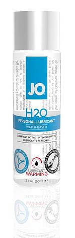 Согревающая смазка на водной основе System JO H2O WARMING (60мл) с экстрактом  перечной мяты, фото 2