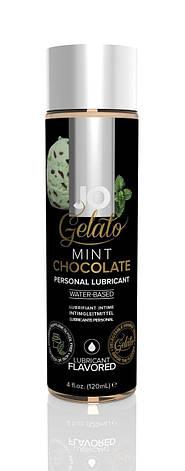 Смазка на водной основе System JO GELATO Mint Chocolate (120 мл) без сахара, парабенов и гликоля, фото 2