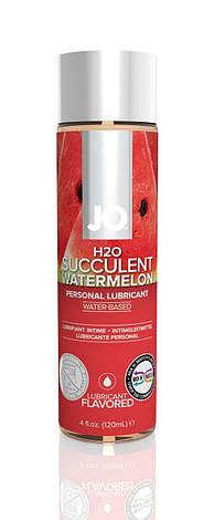 Смазка на водной основе System JO H2O - Watermelon (120 мл) без сахара, растительный глицерин, фото 2
