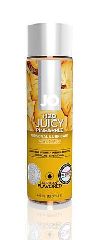 Смазка на водной основе System JO H2O - Juicy Pineapple (120 мл) без сахара, растительный глицерин, фото 2