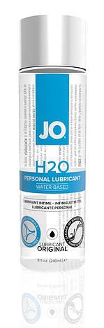 Смазка на водной основе System JO H2O ORIGINAL (240 мл) маслянистая и гладкая, растительный глицерин, фото 2