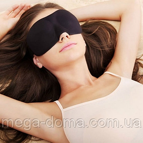 Повязка для сна — маска для сна на липучках